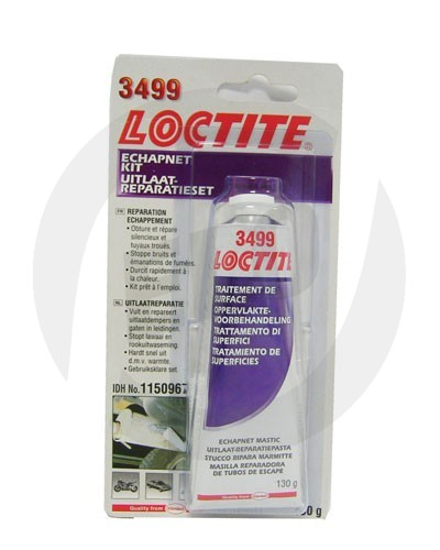 Loctite 3499 sada na opravu výfuku (tmel + bandáž) - 130 g