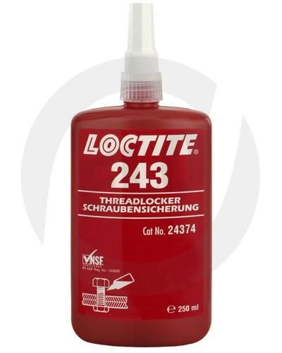 Loctite 243 zajišťovač závitů a šroubů SP - 250 ml