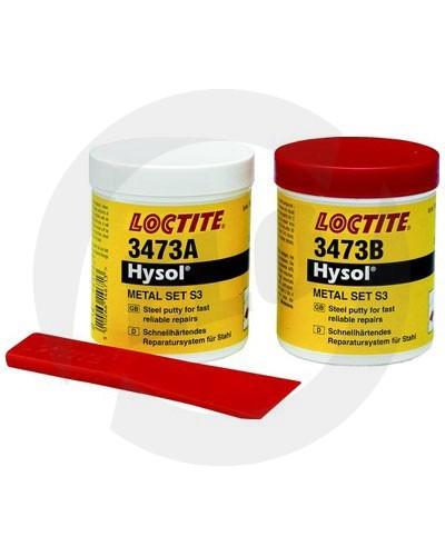 Loctite 3473 epoxidové lepidlo kovem plněné (rychlý) - 500 g