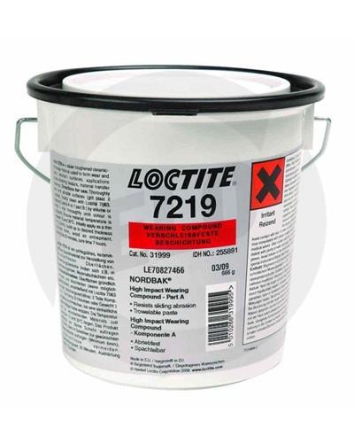 Loctite 7219 nárazu oděruvzdorná směs - 10 kg