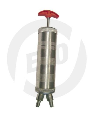 Ruční pístové čerpadlo zinkovaný kov - 500 ccm