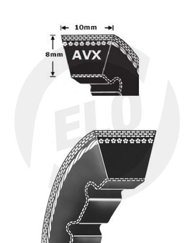Klínový řemen AVX 10x1385 La Rubena