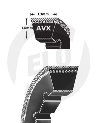 Klínový řemen AVX 13x1015 La Rubena
